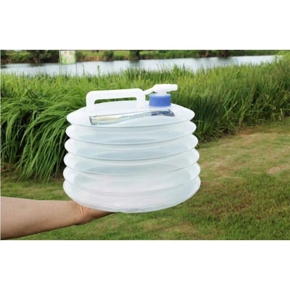 VORCOOL Outdoor Wassereimer Camping Faltbare mit Tap 10L Klapp Camping /Überleben Anwendbar Wasserflasche Container