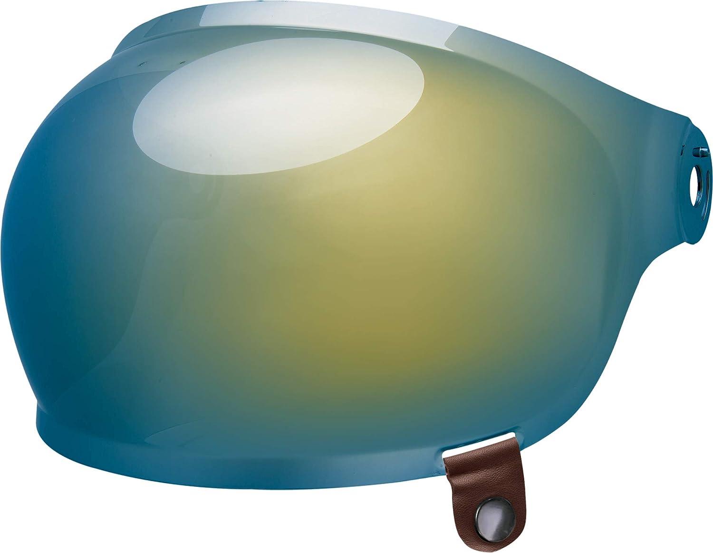 Brown Tab Clear Bell Bullitt Bubble Shield