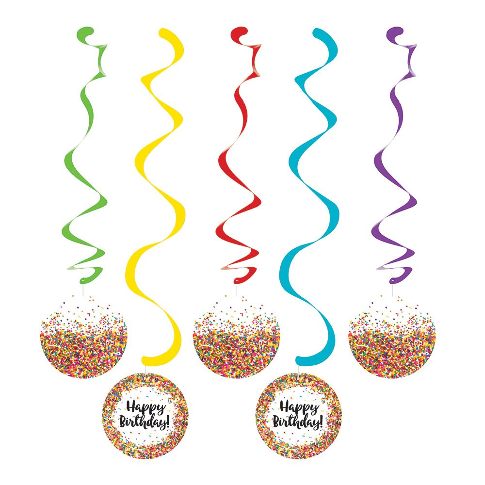 Creative Converting 324672 Decorative Streamers, Decorative Streamers (Pack of 30)