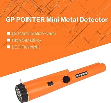 Detector de metales de mano Heaviesk GPADOR DE PUNTERO Mini ...