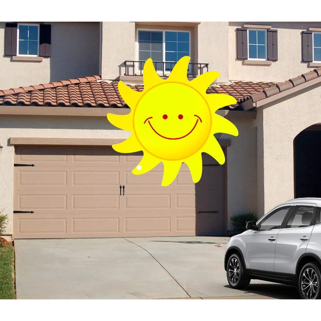 charni/ères poign/ées kit de mat/ériel IFOYO Kit de mat/ériel de porte de garage 2 poign/ées de maison et 4 charni/ères de maison Noir d/écoratif pour porte de garage