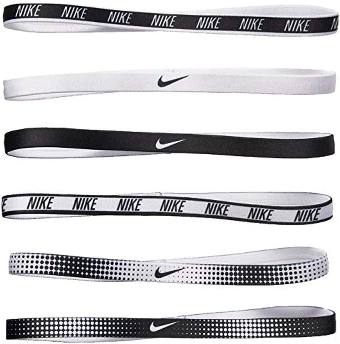6 Pack Nike Unisex Swoosh Headbands