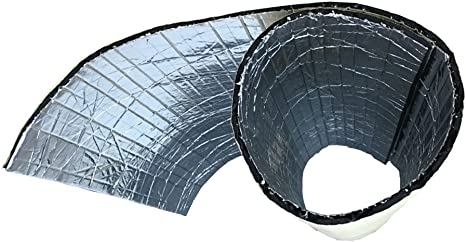 Mintice 2 rotolo veicolo auto insonorizzazione isolamento fonoassorbente chiuso Antirombo Antivibrante Foam 10mm 50cm X 100cm