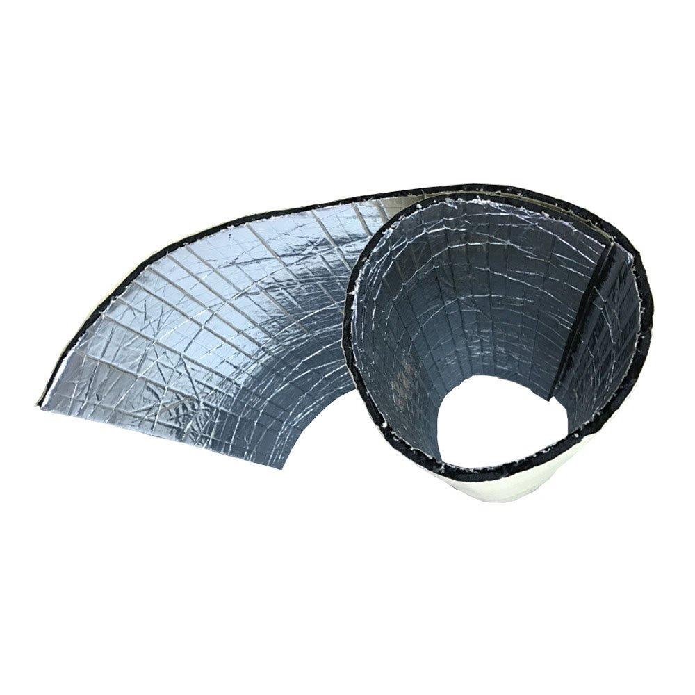 Supmico 1 rotolo auto insonorizzazione isolamento fonoassorbente chiuso Antirombo Antivibrante Fibra di vetro Adesivo Stuoia 5mm 50cm X 100cm