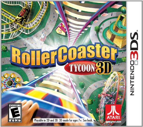 Rollercoaster Tycoon - Nintendo - 3ds Roller Coaster