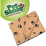 Petsense 3 x Pet Blanket Luxury Warm Soft Fleece Pet Dog/Cat/Puppy/Kitten Bed Blankets- Value Pack 73 x 70cm Per Blanket (3 x Cream 70 x 73cm)