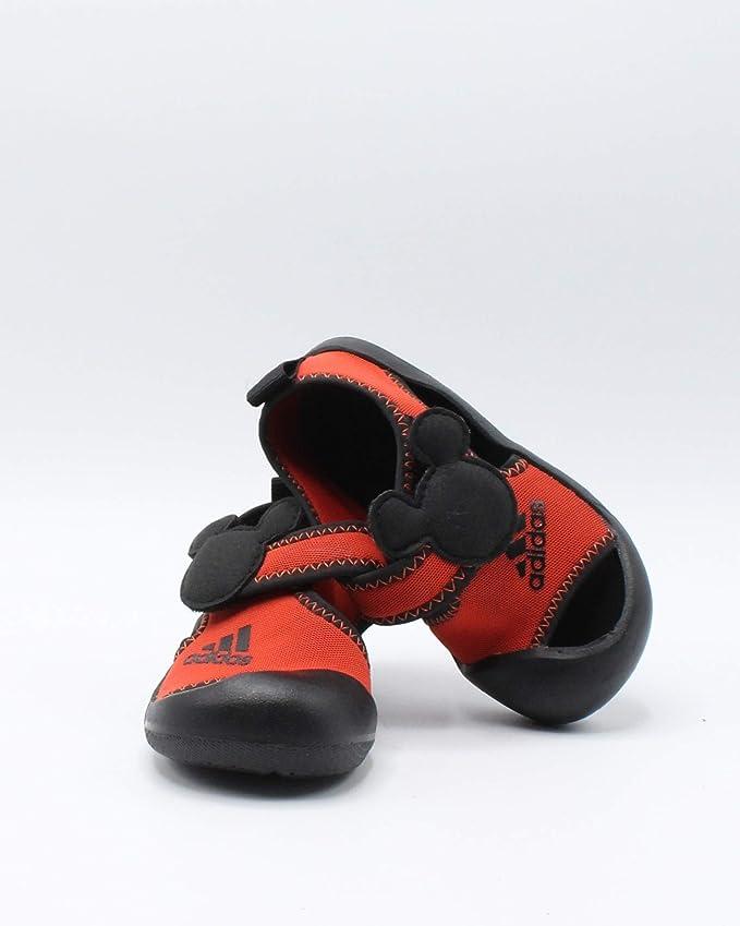 adidas Alta Venture Mickey Infant BlackRed Infant Shoes (D96909)
