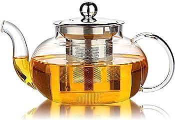 Hiware Stovetop Safe 27 Oz Good Glass Teapot