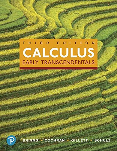 Calculus: Early Transcendentals (3rd Edition) by Pearson