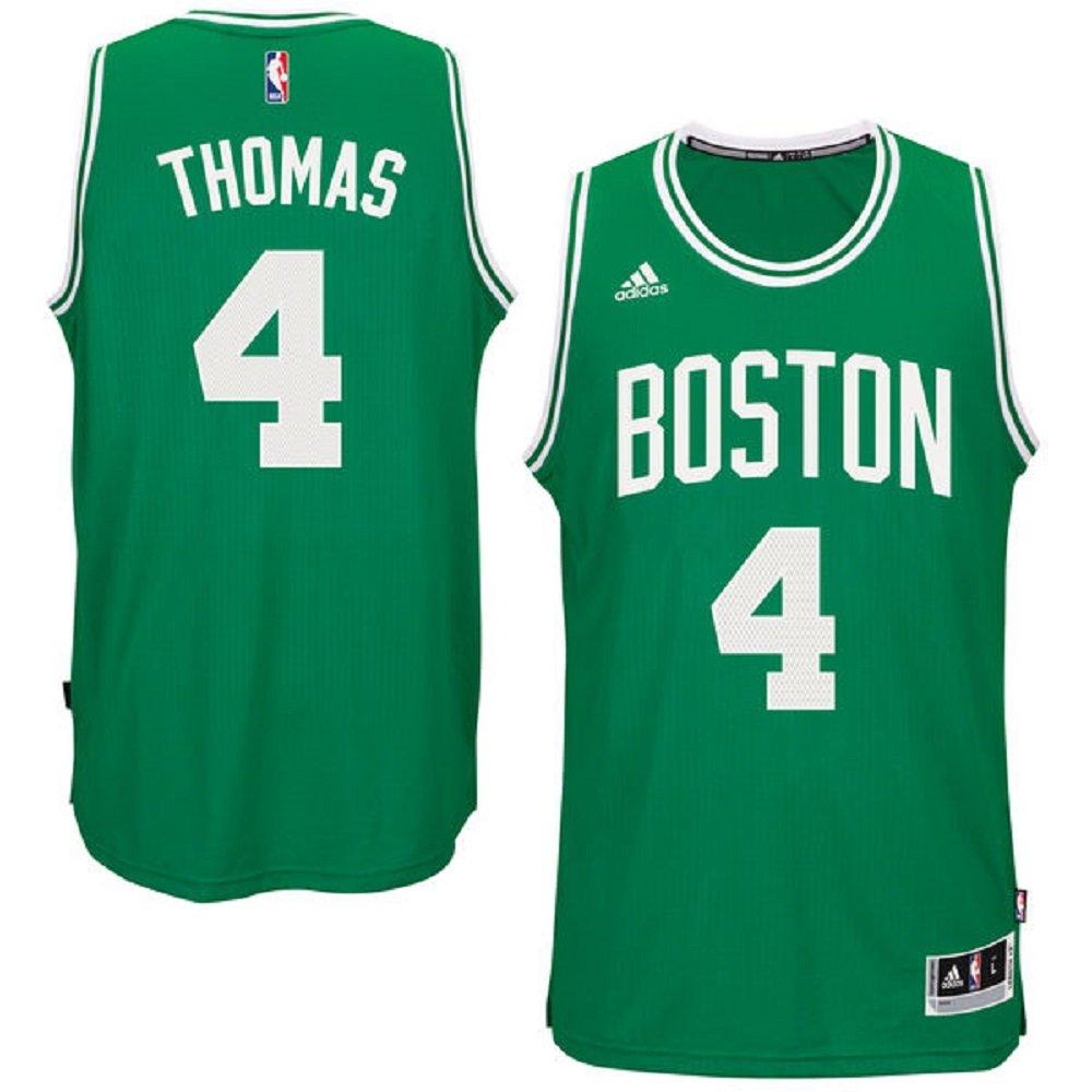 c65379f4031 Amazon.com  adidas Isiah Thomas Boston Celtics NBA Youth Green Swingman  Road Jersey (Youth Medium 10-12)  Clothing
