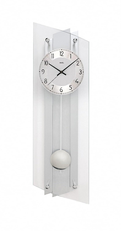 モダン壁時計 クォーツ式 AMS社 B07D98BCX7