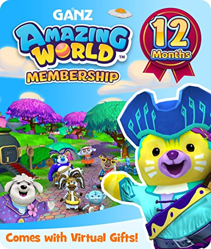 Amazing World 12 month subscription for PC [Online Game (Webkinz Collection)