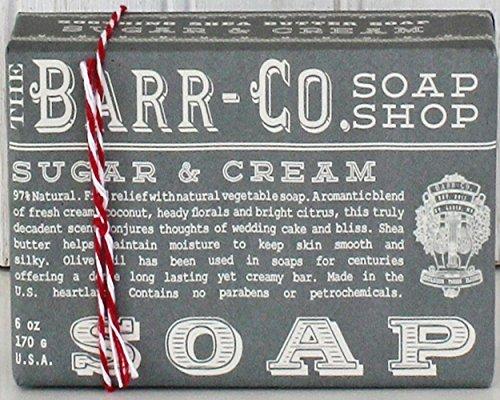 Barr Co Sugar & Cream Bar Soap K Hall Designs