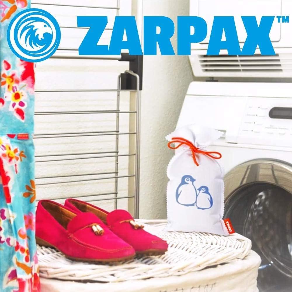 Zarpax LV2-250 Reusable 9-Ounce Dehumidifier 2-Pack 9 oz.