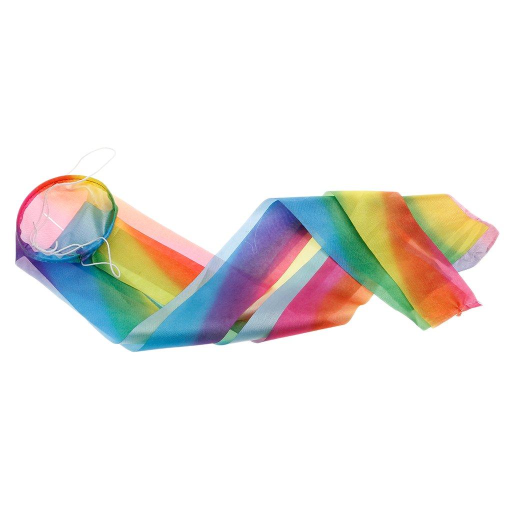 skaliertes Muster SimpleLife Rainbow Windsock Karpfen Flagge Wind Streamer h/ängenden Dekor 50-150c Festival Flagge
