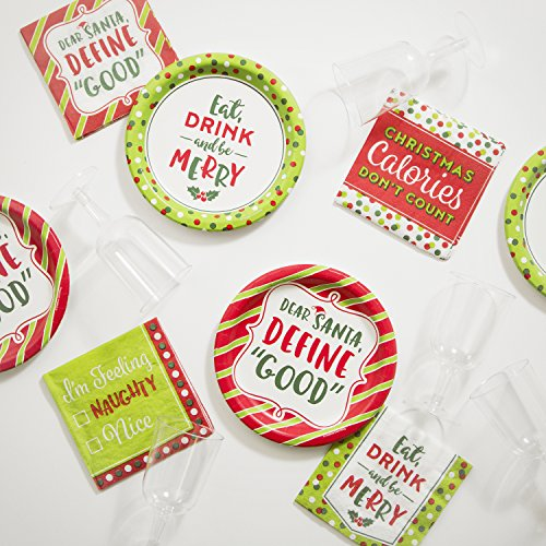 Christmas Cocktail Party Supplies Kit by Creative Converting