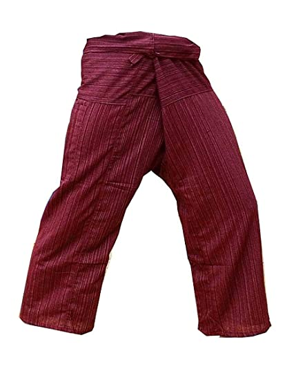 Amazoncom Thai Fisherman Pants Yoga Trousers Free Size Cotton