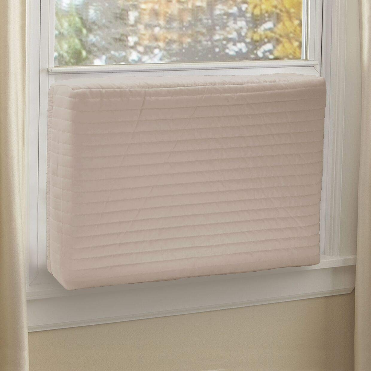 Foozet Indoor Air Conditioner Cover Double Insulation, Large …