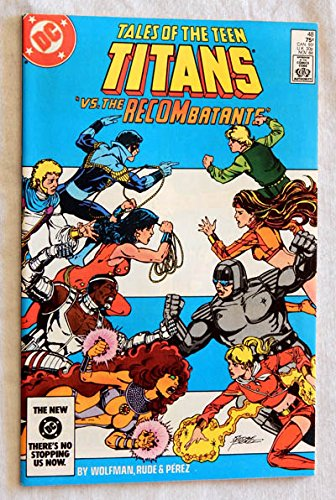 Tales Of The New Teen Titans #48 Comic Book - DC Comics 1984 - A USED Comic Book Graded 9.5.