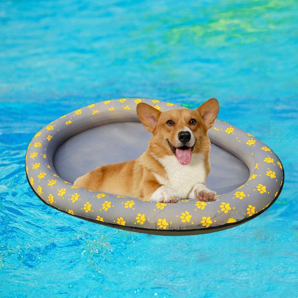 hemicala - Piscina Flotante para Perros, Mascotas, Juguete de Agua ...