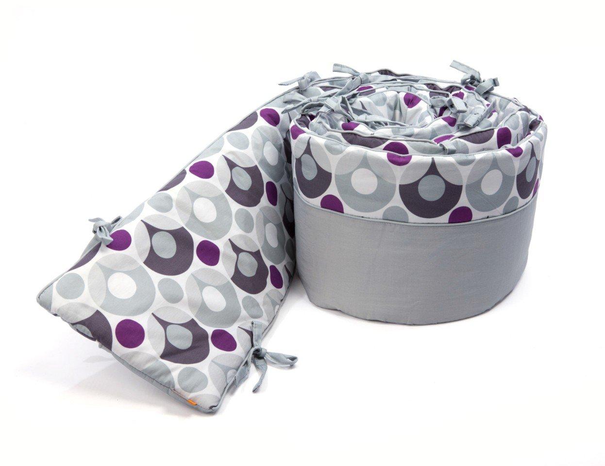 Bloom Luxo Lollipop Bumper, Frost Grey