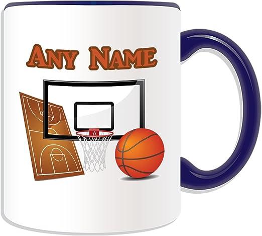 Regalo personaliseitonline - Taza de baloncesto (Diseño del ...