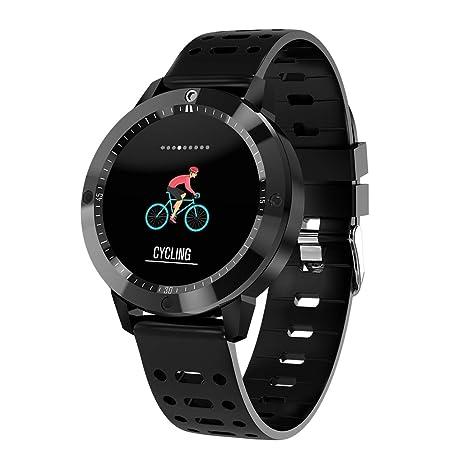 Reloj Inteligente CF58 IP67 Resistente Al Agua Vidrio Templado Actividad Fitness Frecuencia Cardíaca Deporte Hombres Mujeres