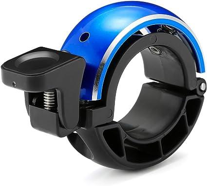 Mini Vélo Cloche Sonnette Vélo Sonnette compacte Cloche Bleu Noir