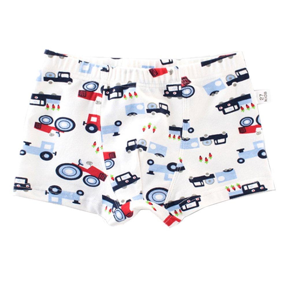 Kid Boy Boxer Briefs Baby Boys Boxer Panties Soft Cotton Underwear Shorts 3 Pack 1-7t