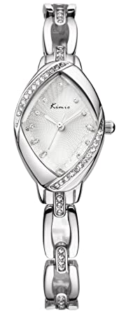 Lava Watches Lava Watches Women's Luxury Rhinestone Watchcase Silver Steel Watch Kw6010s