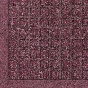 Andersen 280 Waterhog Fashion Polypropylene Fiber Entrance Indoor/Outdoor Floor Mat, SBR Rubber Backing, 6-Feet Length X 4-Feet Width, 3/8-Inch Thick, Bordeaux