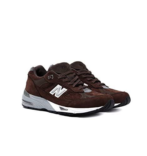 new balance uomo marroni