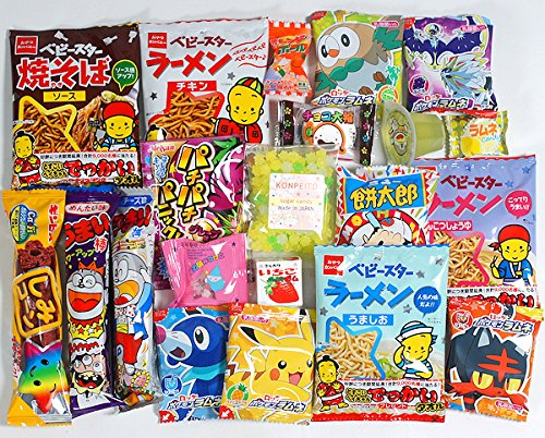 Assorted-Japanese-Candy-Snack-Ramune-Chocolate-Bundle-20-pieces-Konpeito-of-Nanohana-50g