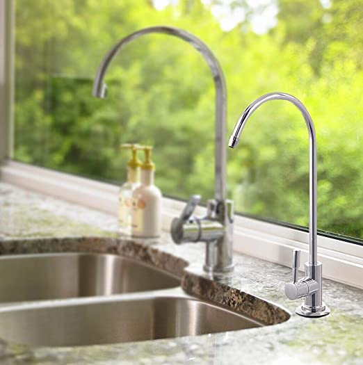 Aissimio Ro Filter Drinking Water Faucet Chrome Ro Reverse Osmosis