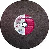 United Abrasives- SAIT 23450 Type 1 Cutting Wheel, 14 x 1/8 x 1, A24R, 10-Pack