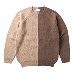 Soglia Lerwick Sweater: Beige / Brown