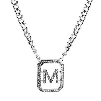 Meipa Zeit Übertrieben Legierung Kette Diamant m pendent