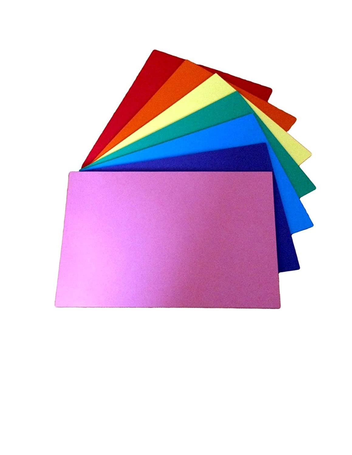 House of Card and Paper Rainbow A4 160 GSM Coloured Card Pack of 50