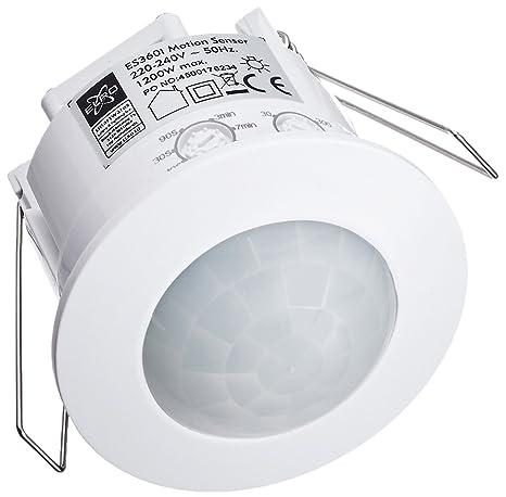 Elro Smartwares Interruptor Automático Por Movimiento, 2000 W, Blanco