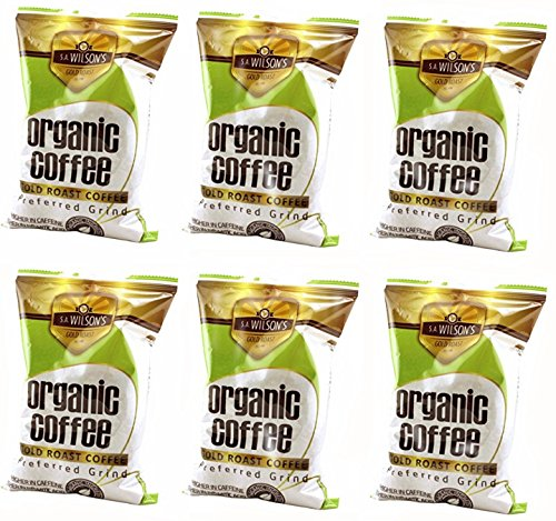 Organic Enema Coffee - One Pound - by S.A. Wilson - Pack of 6 by SA WILSON