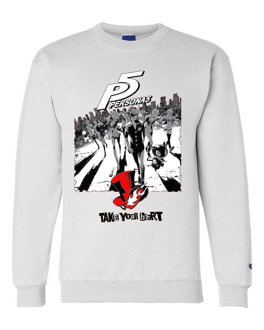 Persona 5 Game Unisex Champion Crewneck Sweatshirt