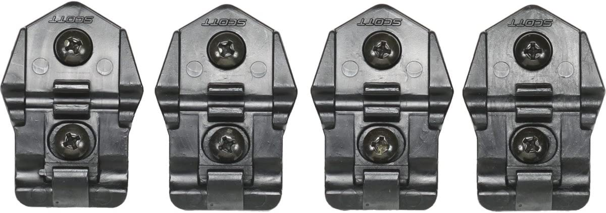 Scott MX BOOT STRAP /& Plastic Buckle Set Replacement Buckle for 250/Boots in Black