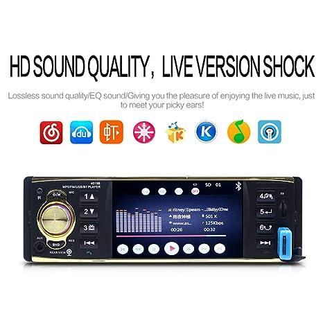 "4.1/"" 1Din Stereo Car MP5 4019B Player Bluetooth In-Dash FM Radio Audio Camera"