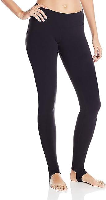 DeepTwist Malla Panel Pantalones de Yoga Barre Stirrup Tights Leggings de Entrenamiento para Mujeres