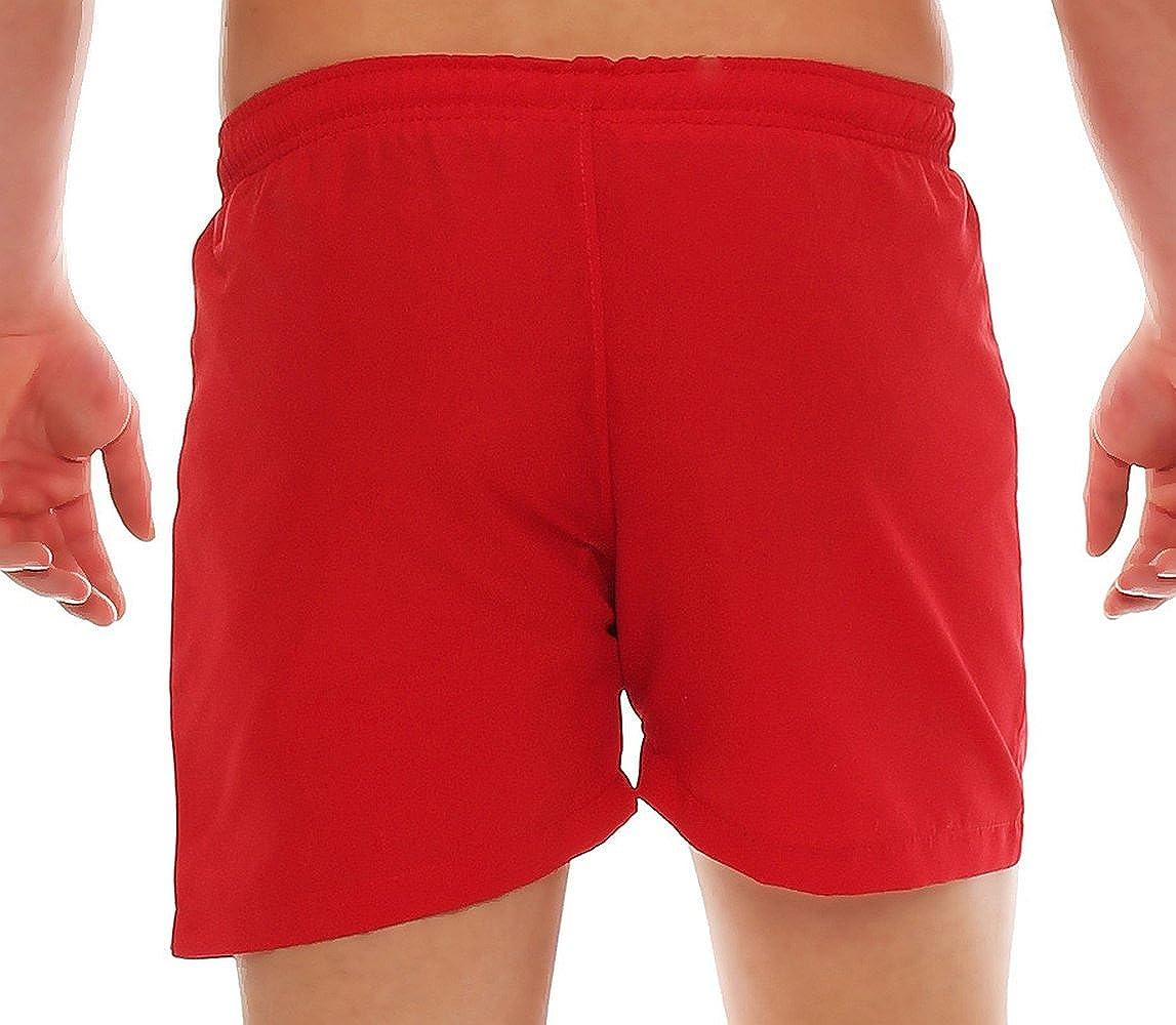 Gennadi Hoppe Pantalones cortos de los hombres del traje de ba/ño corto