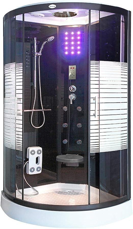 Home Deluxe Black Pearl - Columna de ducha, incluye accesorios ...