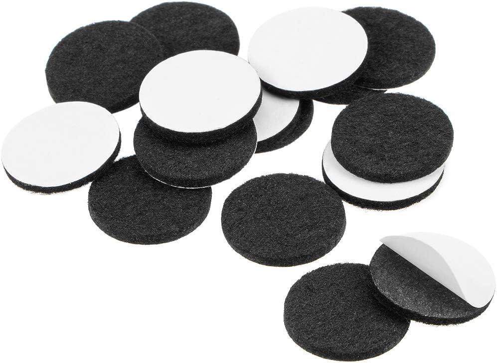 Almohadillas de fieltro adhesivas para muebles Sourcingmap 3 mm de grosor