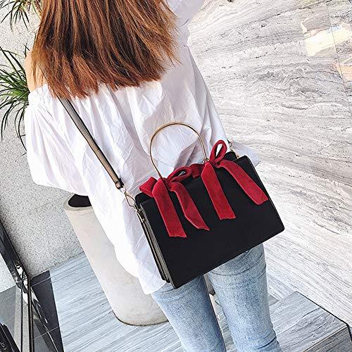 Bandoulière Bandoulière En La Main Black pink Sac Mode De Wangyujie Coréenne À Sacs aHBqnTv
