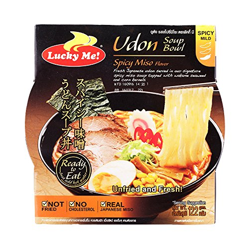 on Soup Bowl, Spicy Miso Flavour, net weight 122 g (Pack of 2 bowls) / 8eststore by KK ()