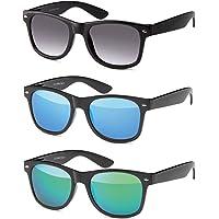 MOKIES Unisex Sonnenbrille - UV400 Filterkategorie 3 CE Kennzeichnung - Polycarbonat - einige Modelle mit Federscharnier FLEX TEMPLE